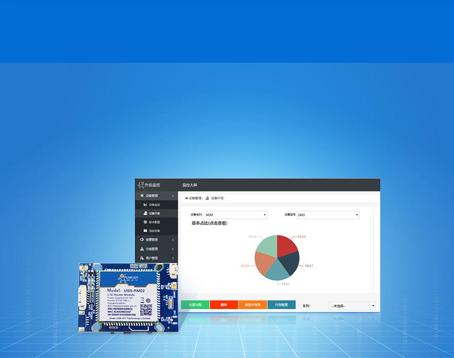 4G安防报警模块支持远程管理特色功能