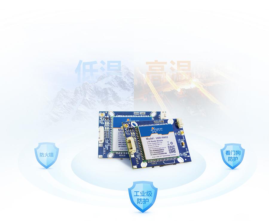 4G安防报警模块的安全保护功能