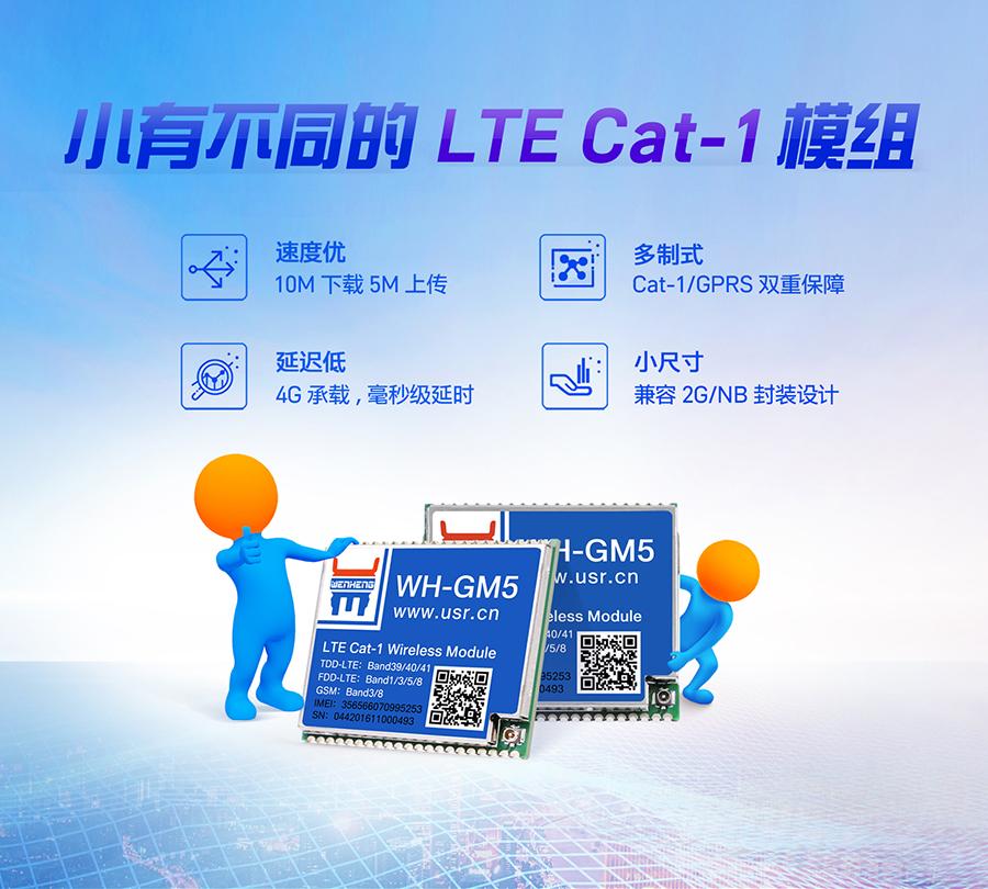 Cat-1模块_GPRS模组退市的替代品_NB的高速版