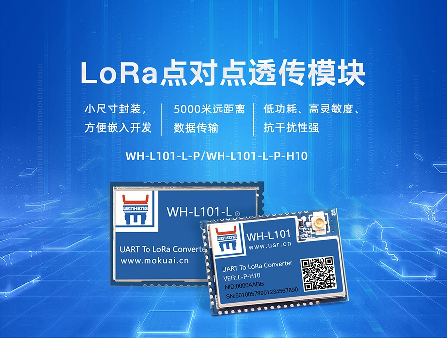 LoRa无线传输模块_点对点/LoRaWAN_LoRa无线传输技术
