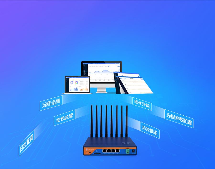 5g工业路由器支持设备管理新策略