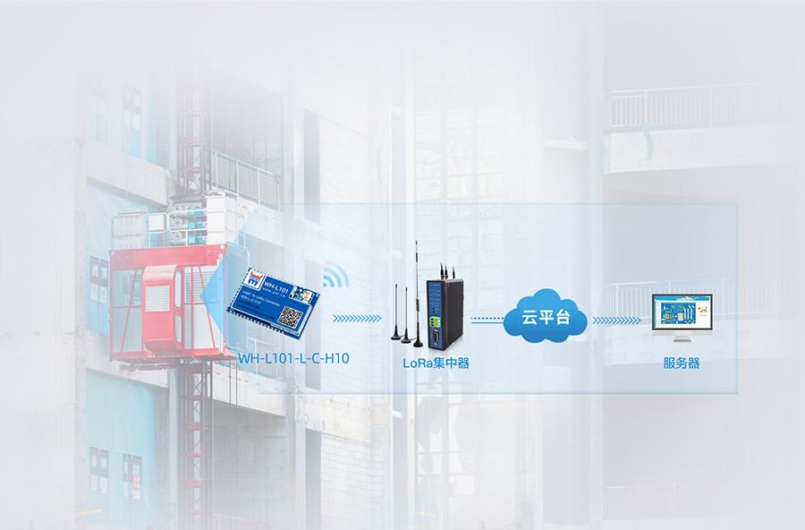 lora模块的智慧工地设备联网监控应用