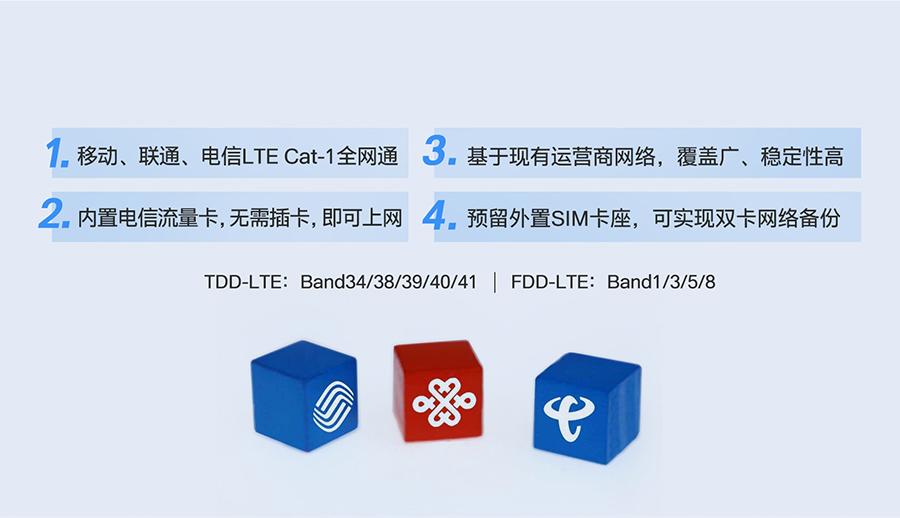 DR15X支持的网络制式