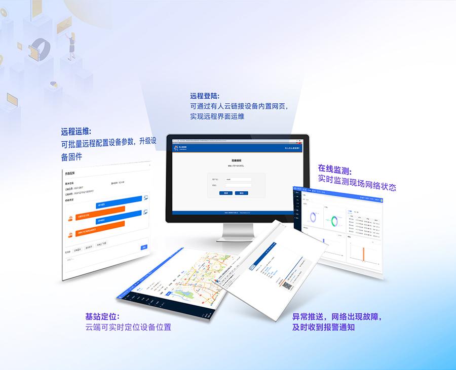 4G工业路由网关的在线监管